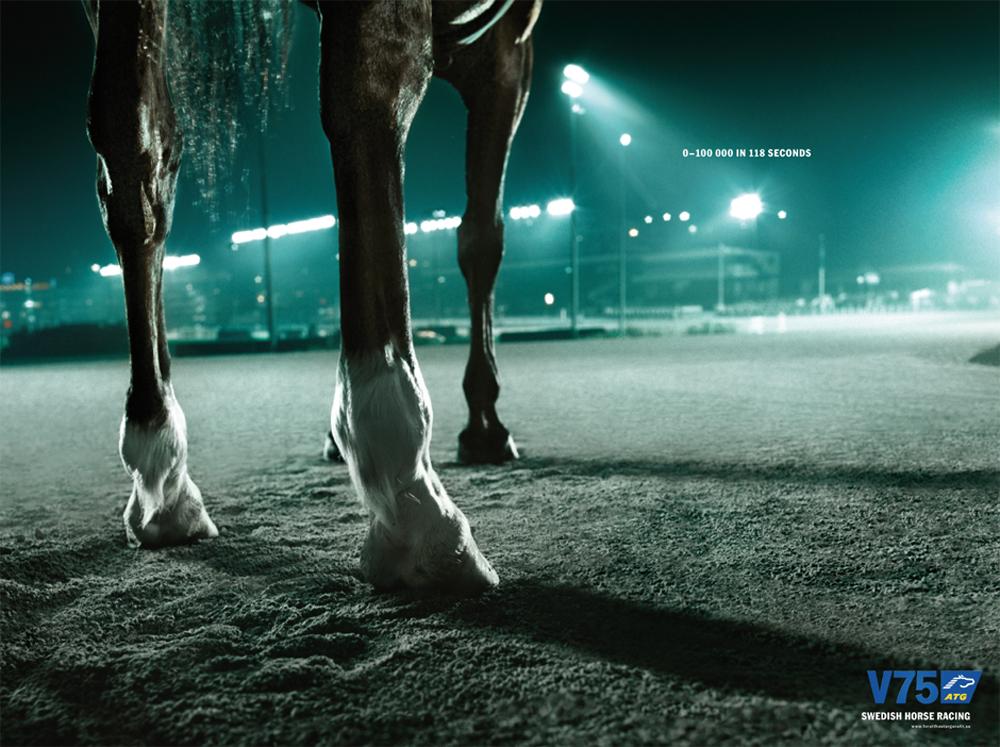 La Cavalière masquée | Klaus Thymann for V75 ATG: Horsepower