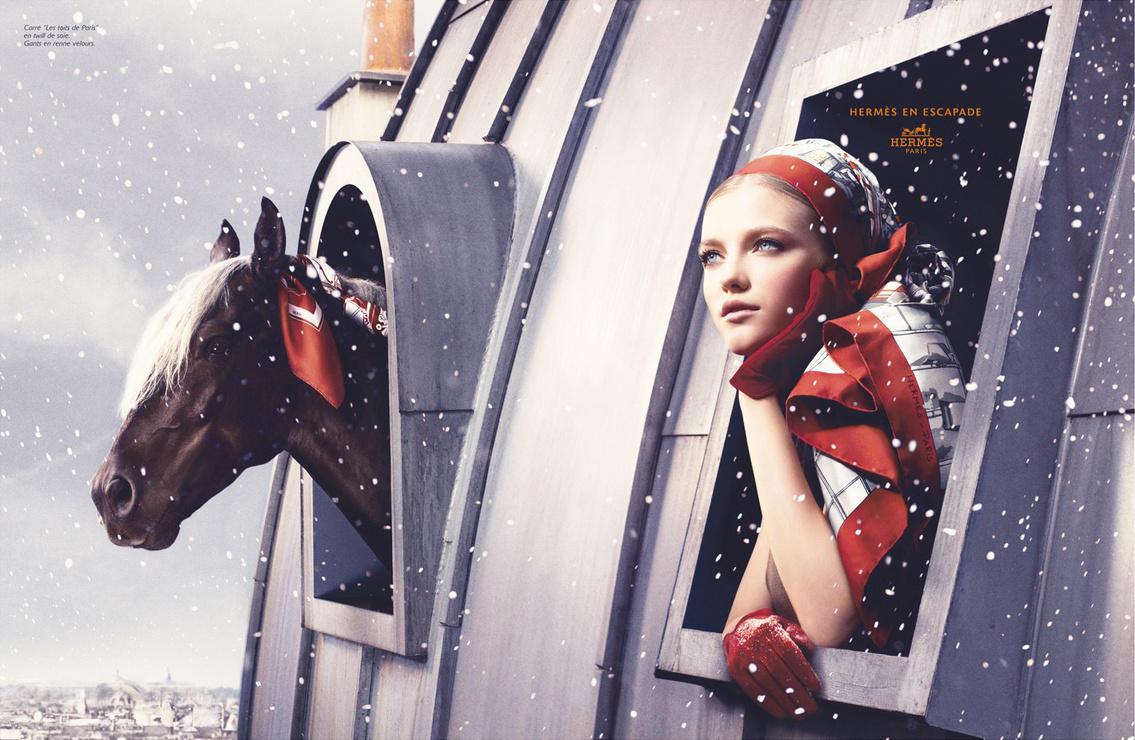 www.lacavalieremasquee.com | Camilla Akrans for Hermès en escapade