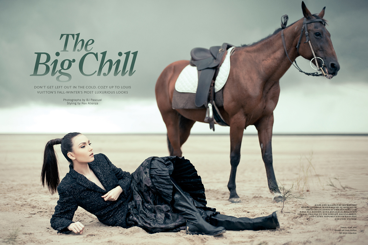 www.lacavalieremasquee.com | BJ Pascual for Metro Society November 2010: The Big Chill
