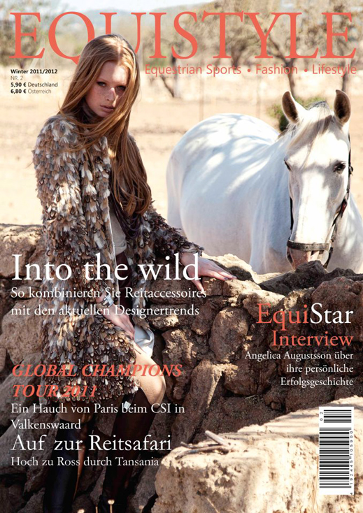 Andreas Ortner for Equistyle Magazine: Into the wild