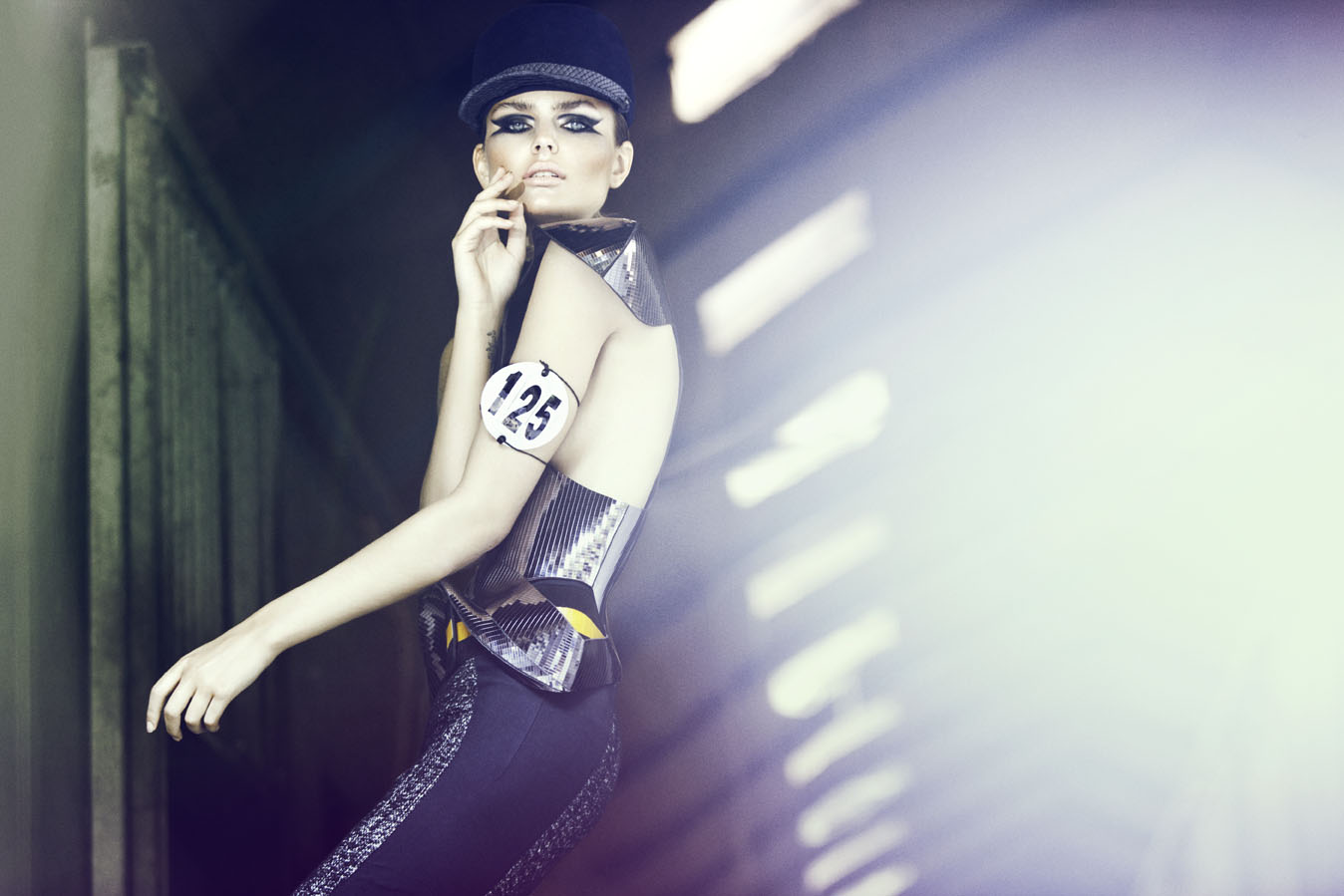 www.lacavalieremasquee.com   Signe Vilstrup for Tush Magazine w/ Dimphy Janse: Ready to Ride