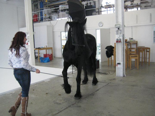 Equestyle Magazine backstage March 2012