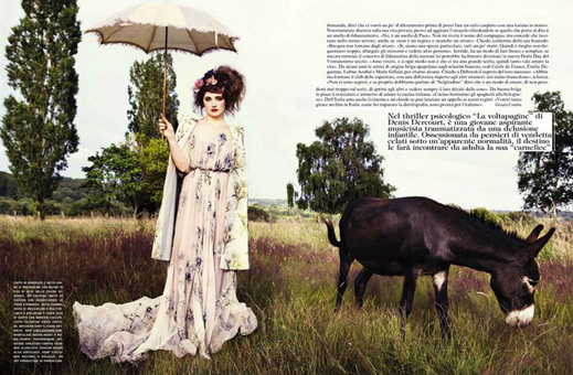 Ellen von Unwerth for Vogue Italia
