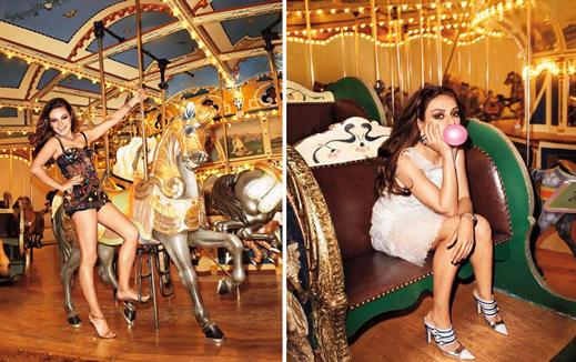 Terry Richardson & Mila Kunis - horse