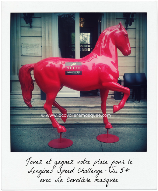 Gucci Paris Masters w/ La Cavalière masquée - Masked Horse