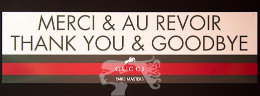 Gucci Paris Masters / La Cavalière masquée - MaskedHorse
