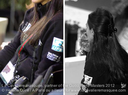 La Cavalière masquée partner of the Gucci Paris Masters / My backstage !