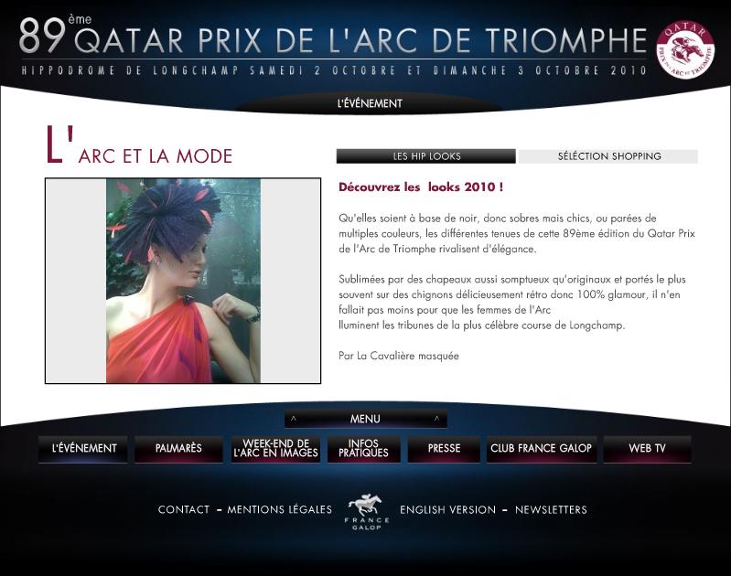 www.lacavalieremasquee.com | France Galop - Qatar Prix de l'Arc de Triomphe by Aurélie Savy - La Cavalière masquée