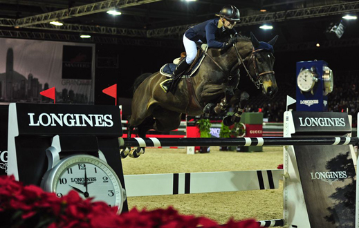 www.lacavalieremasquee.com / Katharina Offel w/ Olivia De Nantuel @ Longines Speed Challenge (Longines Hong Kong Masters)
