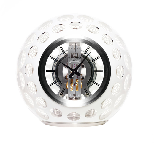www.lacavalieremasquee.com | Hermès, Jaeger-LeCoultre and Saint-Louis create spectacular Atmos Clock
