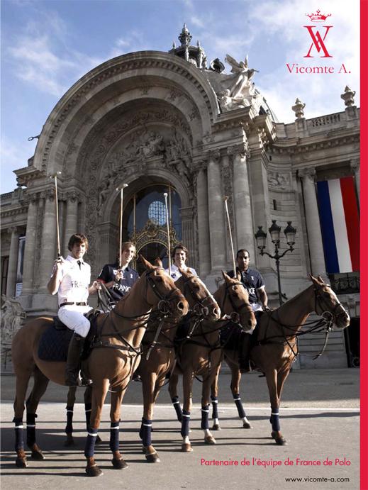 www.lacavalieremasquee.com / Vicomte A, polo