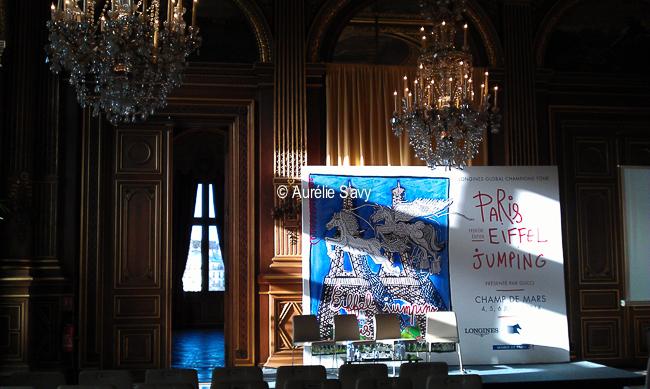 www.lacavalieremasquee.com | Conférence de presse du Paris Eiffel Jumping 2014