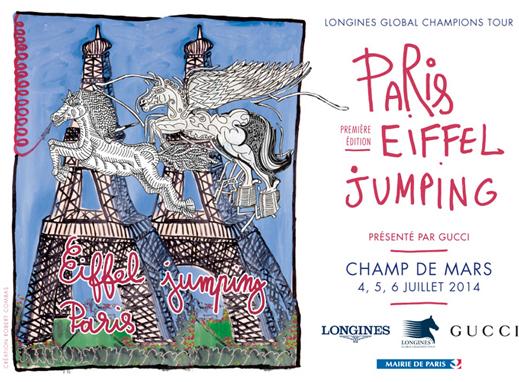 www.lacavalieremasquee.com | Longines Global Champions Tour Paris Eiffel Jumping présenté par Gucci #1