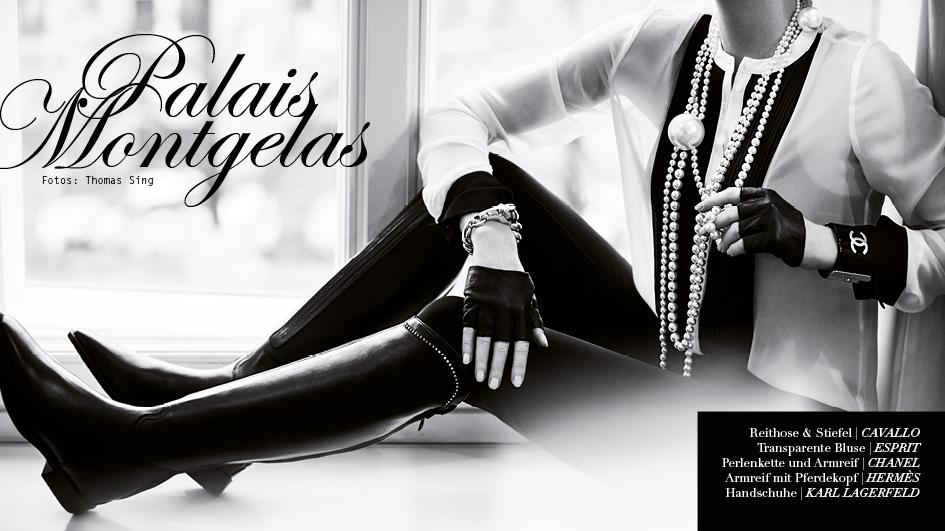 www.lacavalieremasquee.com | Palais Montgelas by Thomas Sing for Equistyle