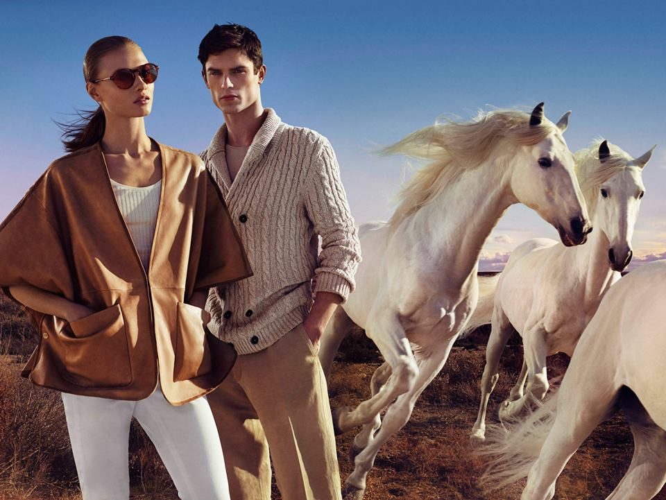 www.lacavalieremasquee.com | Massimo Dutti Equestrian Collection S/S 2015