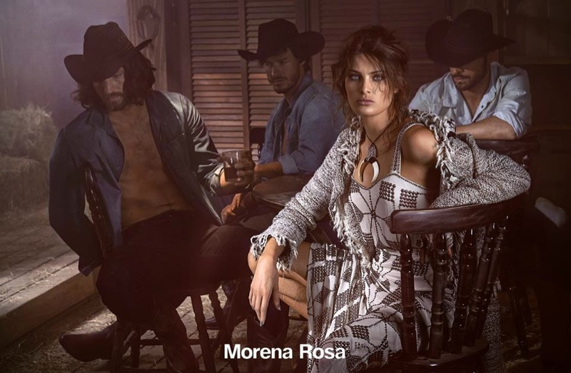 www.lacavalieremasquee.com | Isabeli Fontana for Morena Rosa Winter 2015 Campaign