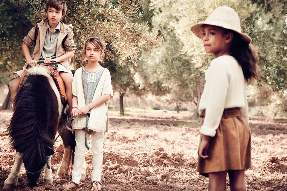 www.lacavalieremasquee.com | Massimo Dutti EQ Campaign Boys & Girls Collection S/S 2015