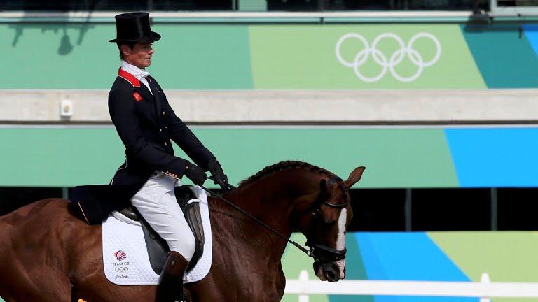 www.lacavalieremasquee.com | Jeux Olympiques Rio 2016 | Concours complet par équipes : Dressage - William Fox-Pitt