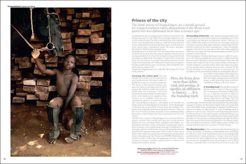 www.lacavalieremasquee.com | Air France Magazine Novembre 2016 #235: Burkina Faso