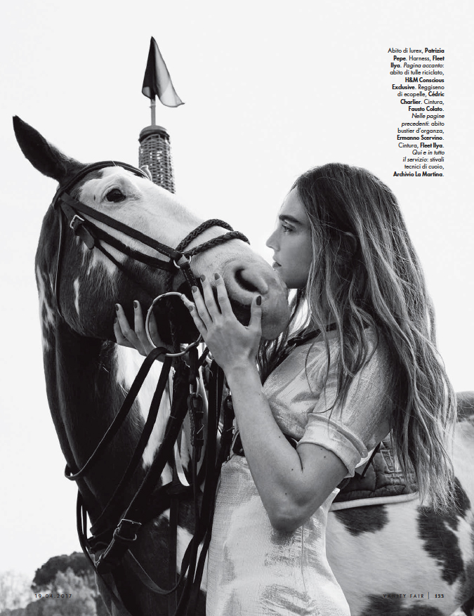 www.lacavalieremasquee.com | Simone Falcetta for Vanity Fair Italy w/ Federica Leone