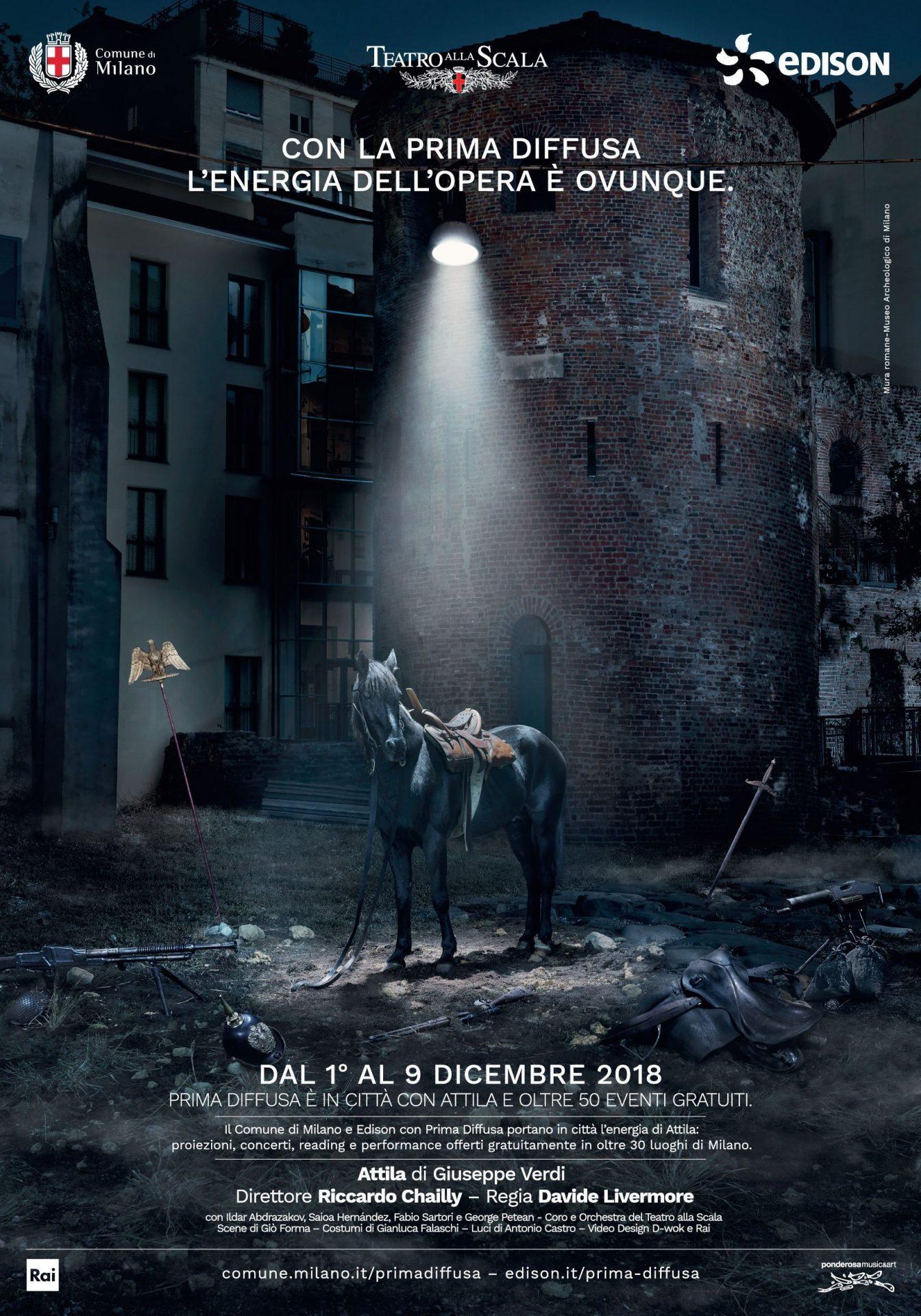 La Cavalière masquée | Prodigious & Riccardo Bagnoli for Edison - Comune di Milano