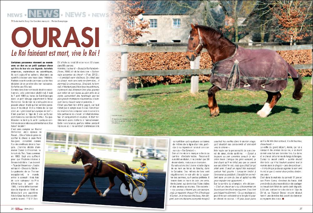 www.lacavalieremasquee.com | Sports Équestres Magazine : Ourasi