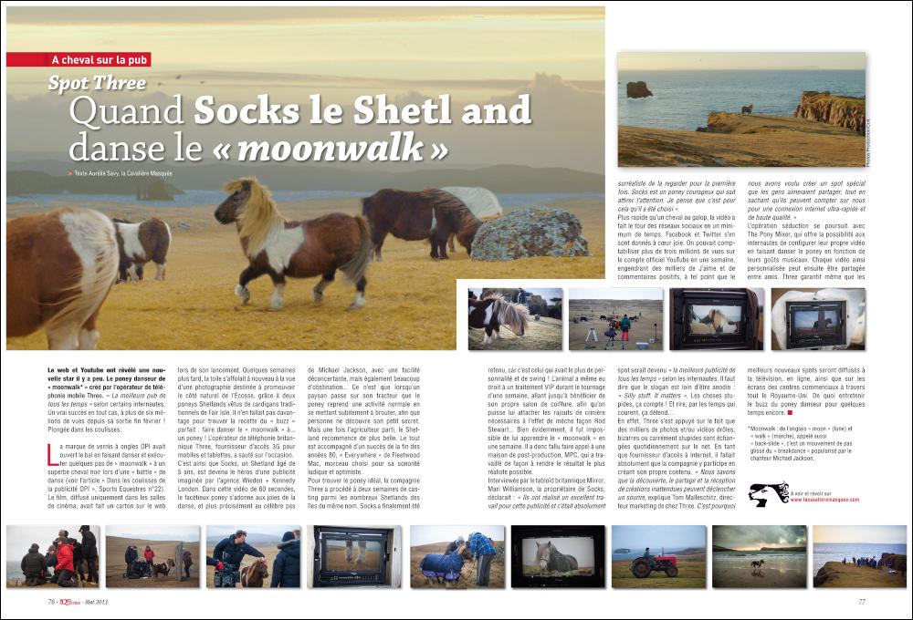 La Cavalière masquée | Sports Equestres magazine #26: Spot Three #DancePonyDance