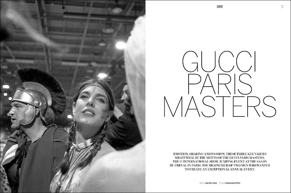 La Cavalière masquée | Equestrio #Spring 2013: Gucci Paris Masters