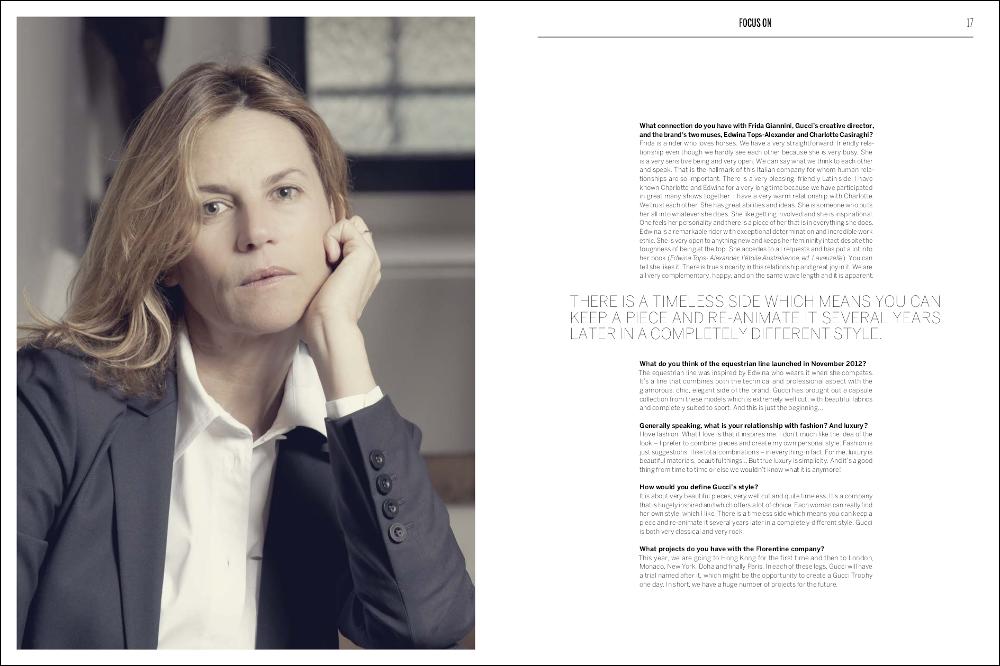 La Cavalière masquée | Equestrio Magazine #Spring 2013: Gucci by Virginie