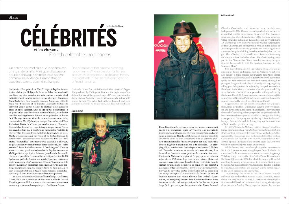 La Cavalière masquée | Gucci Paris Masters 2013: French celebrities and horses