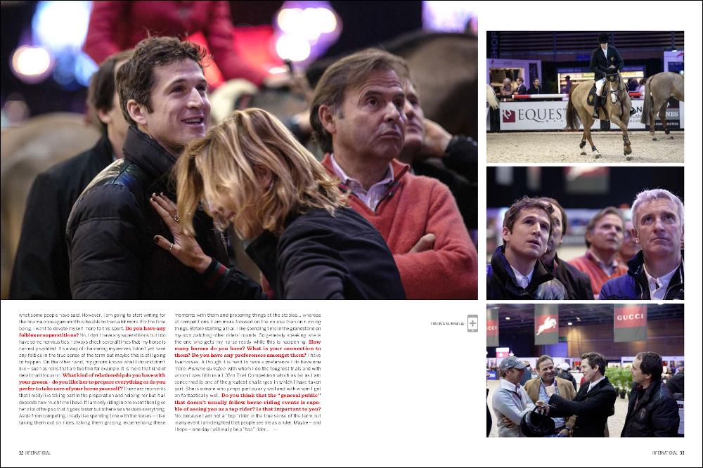 La Cavalière masquée | Equestrio Magazine #Spring 2014: Guillaume Canet