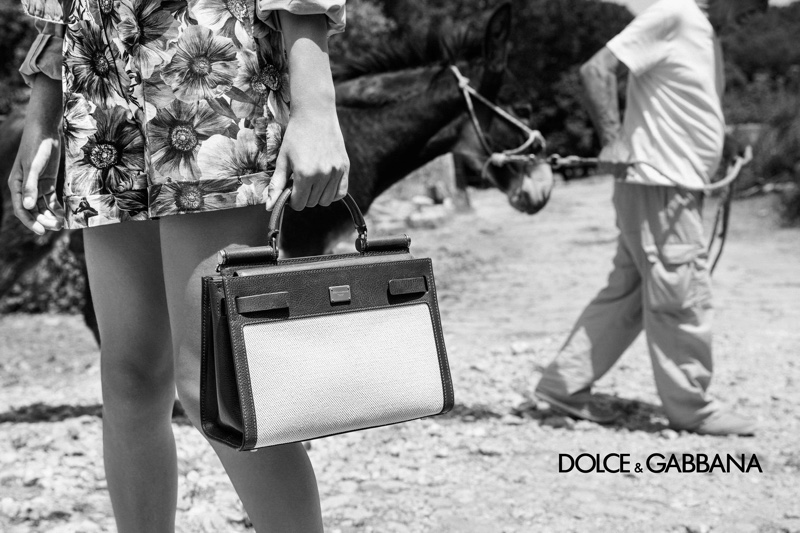 Salvo Alibrio for Dolce & Gabbana's S/S 2020 campaign w/ Bianca Balti, Jessica Stam and Isabeli Fontana