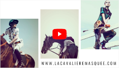 La Cavalière masquée on TV : Equidia, La Culturelle