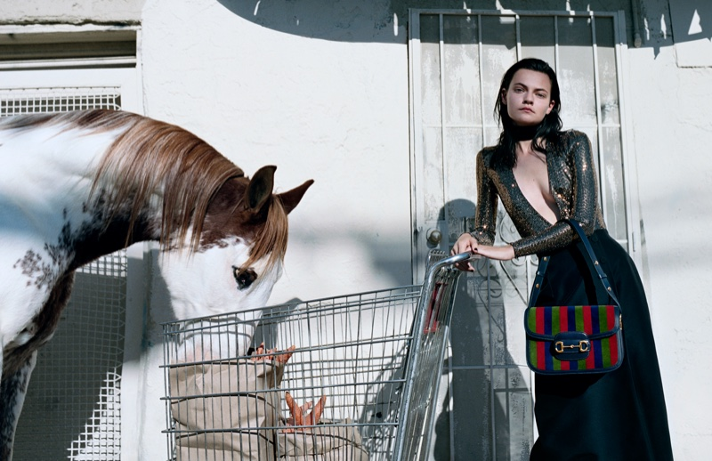 lacavalieremasquee.com | Gucci Spring/Summer 2020 campaign by Alessandro Michele : Of Course A Horse