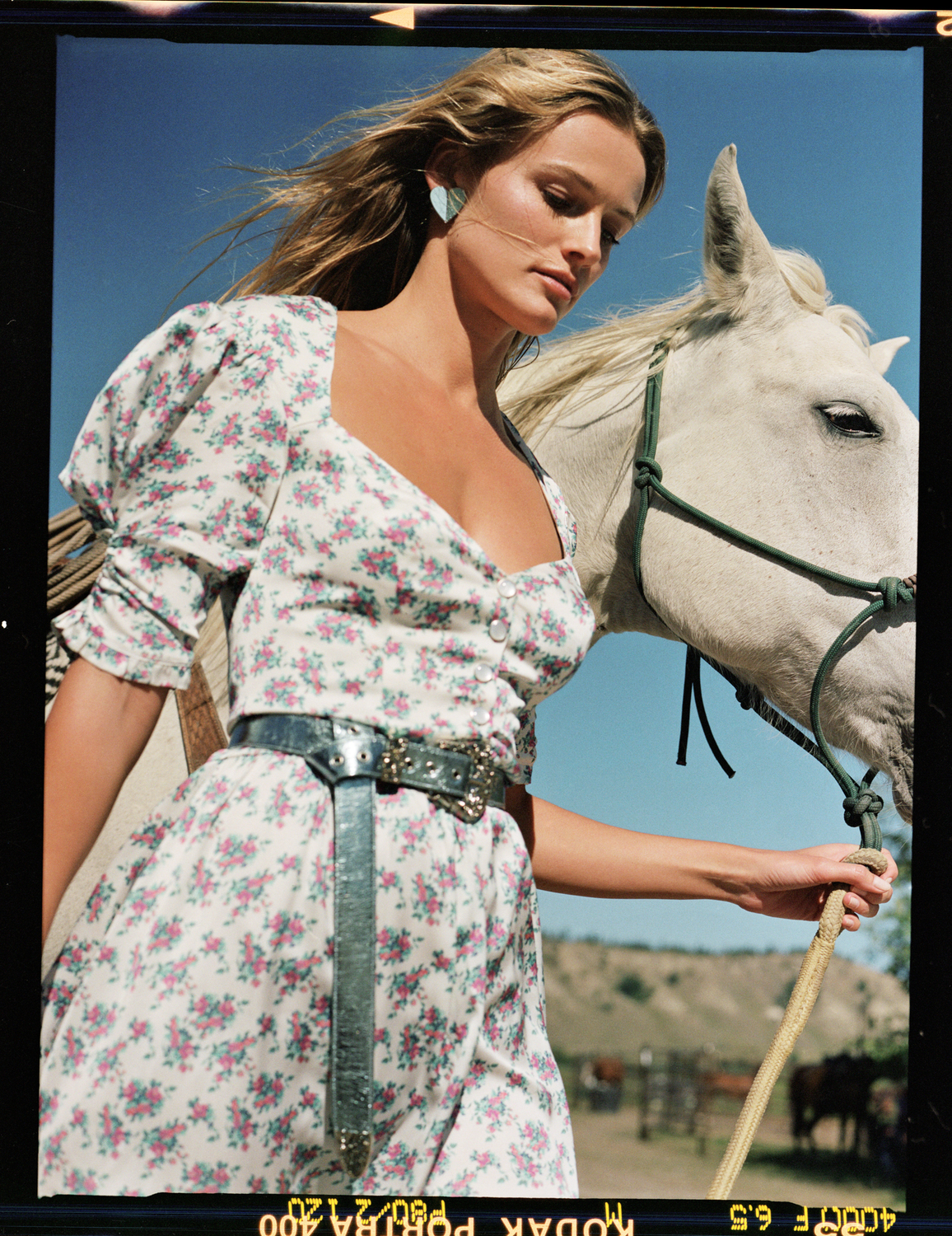 www.lacavalieremasquee.com | For Love & Lemons Spring/Summer 2020 campaign w/ Edita Vilkeviciute