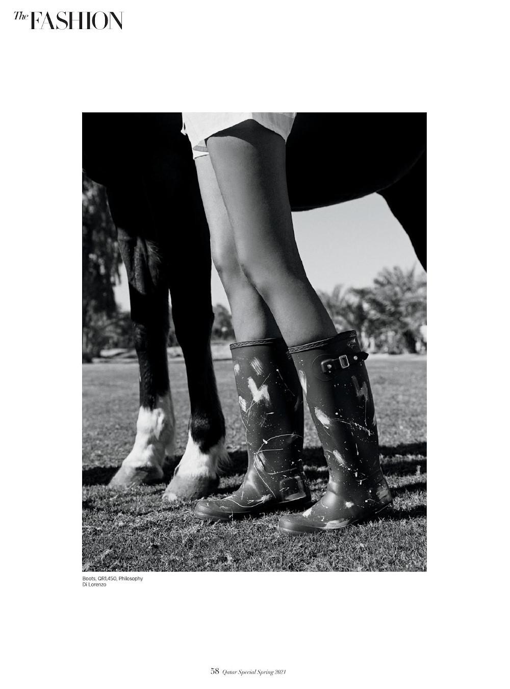 www.lacavalieremasquee.com | Francesco Luigi Scotti for Harper's Bazaar Qatar Spring Edition 2021