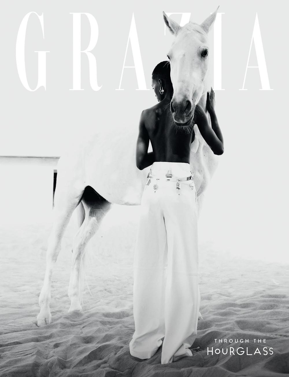 www.lacavalieremasquee.com | Paul Morel for Grazia Magazine April 2021