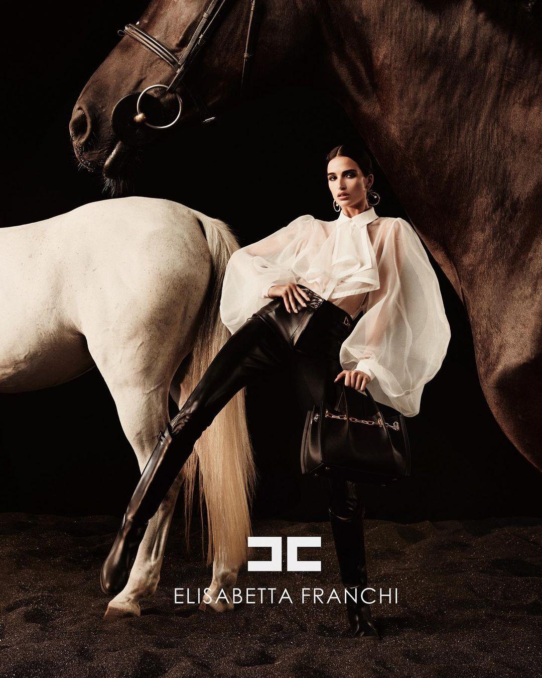 www.lacavalieremasquee.com | Nima Benati for Elisabetta Franchi Fall/Winter 2021